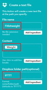 IFTTT-Fitbit
