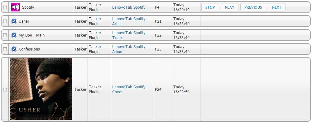 Tasker-Spotify-Info
