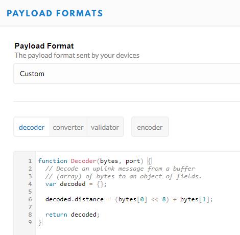 payloadformat
